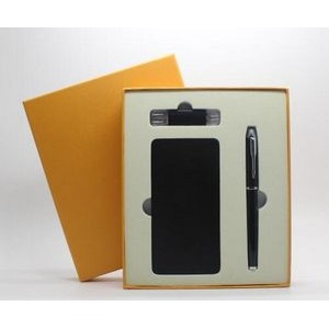 3 in 1 business gift set(power bank,pen,OTG usb flash drive)
